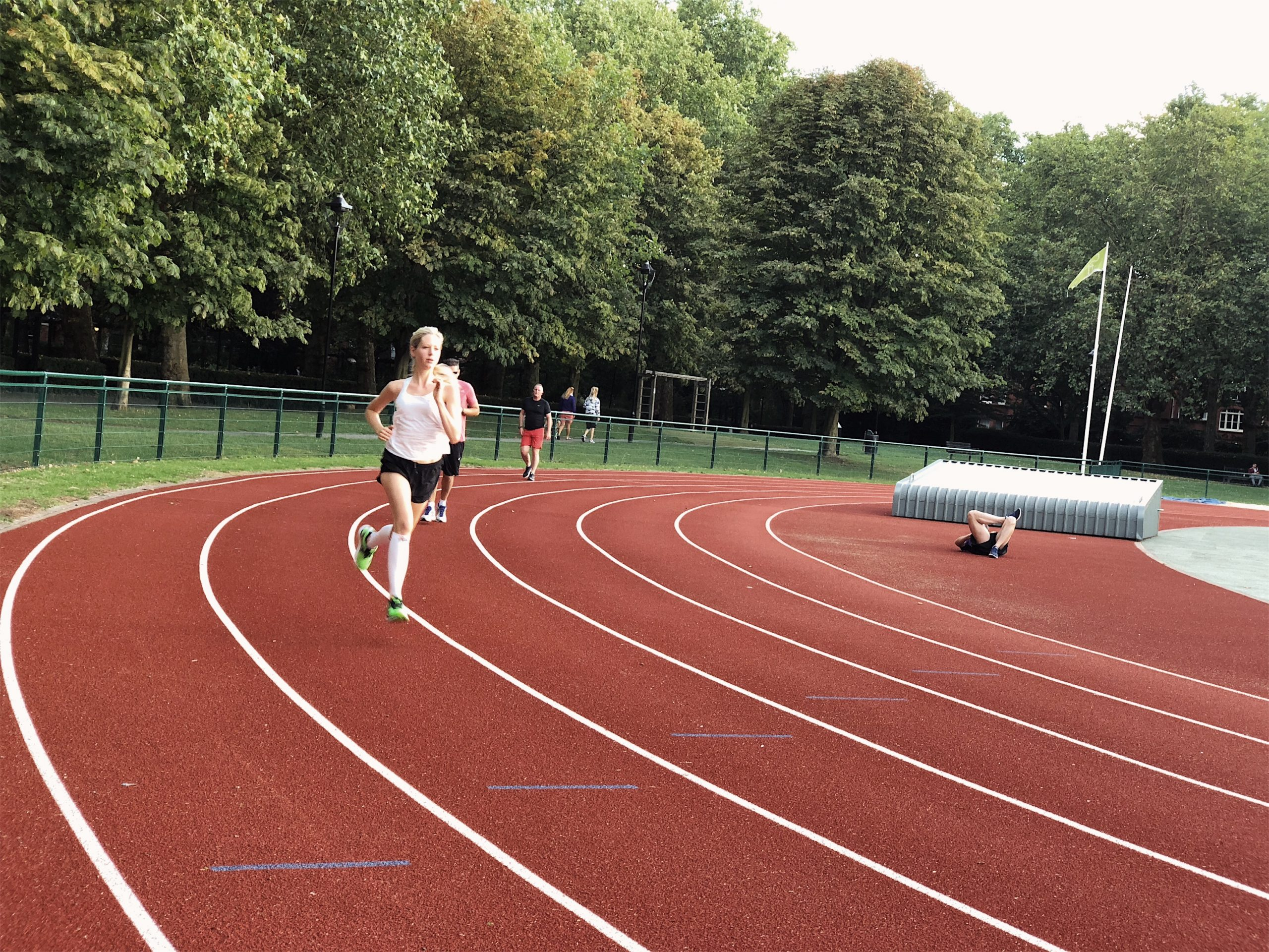 Speed session in London